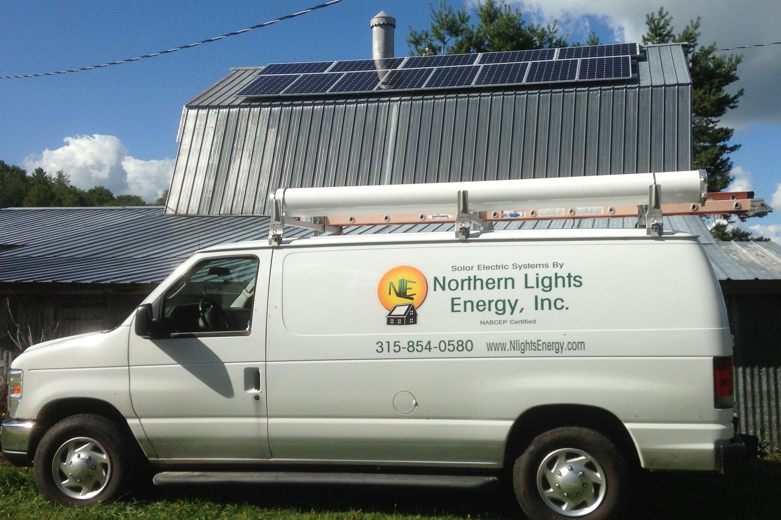 Solar Barn in Russell