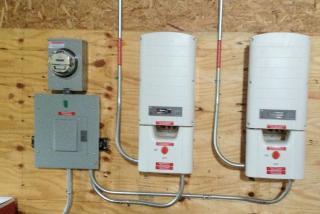 Twin SolarEdge inverters