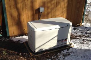 Generac Ecogen 6kW generator for offgrid homes