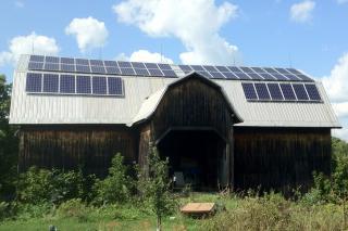 Solar Barn in Macomb