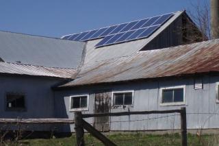 Solar on Norwood, NY Barn